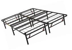 AmazonBasics Foldable Platform Bed Frame - Tool-Free Assembl
