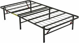 AmazonBasics Foldable Platform Bed Frame Under-Bed Storage T