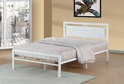 frank contemporary metal bed