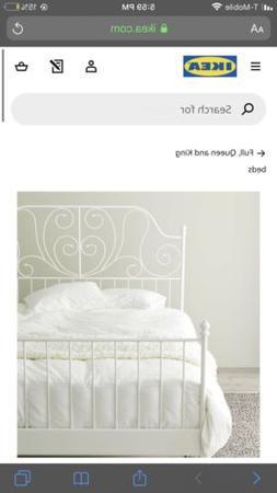 ikea full bed frame