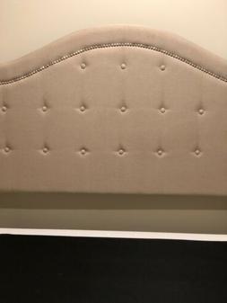 Full/OueenSize Platform Bed Frame Arch Headboard + Frame $13
