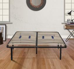 full size bed frame platform metal mattress