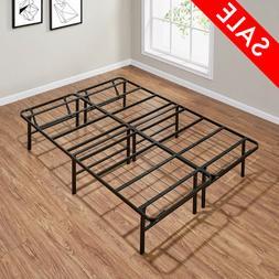 Full Size Platform Bed Frame 14 Inch Mattress Steel Foundati