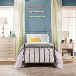 Hillsdale Furniture Molly Black Steel Twin Bed