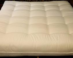 All Natural Cotton Twin Extra Long Size Futon
