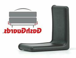 GashGuards: Deluxe Plastic Bed Frame End Caps, Sheet Savers,