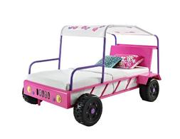 Powell 193-038 Girls Buggy Bed, Twin
