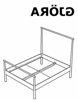 IKEA GJÖRA Bed Frame Replacement parts Hardwares for Bed As