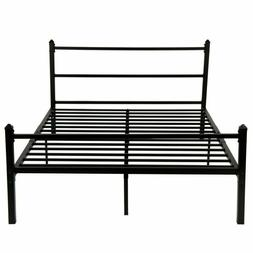 Greenforest Bed Frame Full Size Metal Platform Bed With Head