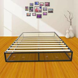 High Quality Simple Basic Iron Bed Full Size Metal Platform