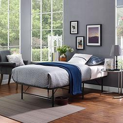Modway Horizon Twin Stainless Steel Bed Frame Multiple Color