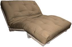 Houston Au Natural 8-inch Loft All Cotton Filled Sit, Lounge