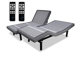 iDealBed iEscape Adjustable Bed Base, Wall Hugger, Wireless