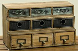 industrial chic mini chest
