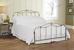 Fashion Bed Group Kalina Complete Bed with Metal Spindle Pan