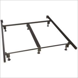 King Glideaway Glidematic Bed Frame with Glides and 6 Legs