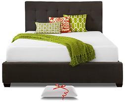 Resort Sleep Full 10 Inch Cooling Memory Foam Mattress and P
