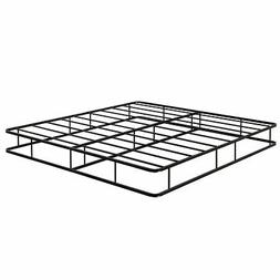 9 Inch Platform Low Profile Bed Frame Steel Slat Mattress Fo
