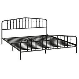 king size metal bed frame steel slat