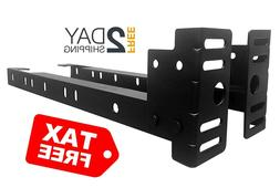 Kings Brand Furniture Bed Frame Footboard Extension Brackets