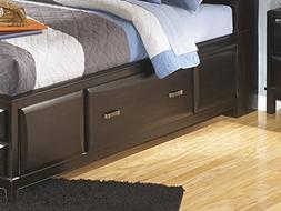 Ashley Kira Full Under Bed Storage w/rails