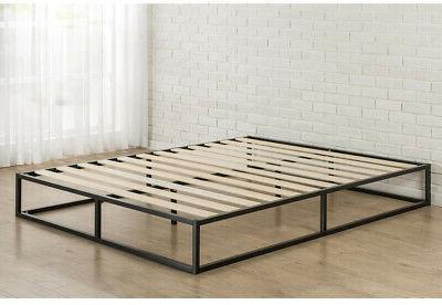 10 Platform Frame Steel, Low Profile Foundation Slats, Full