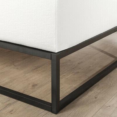 10 in. Platform Bed Frame Full