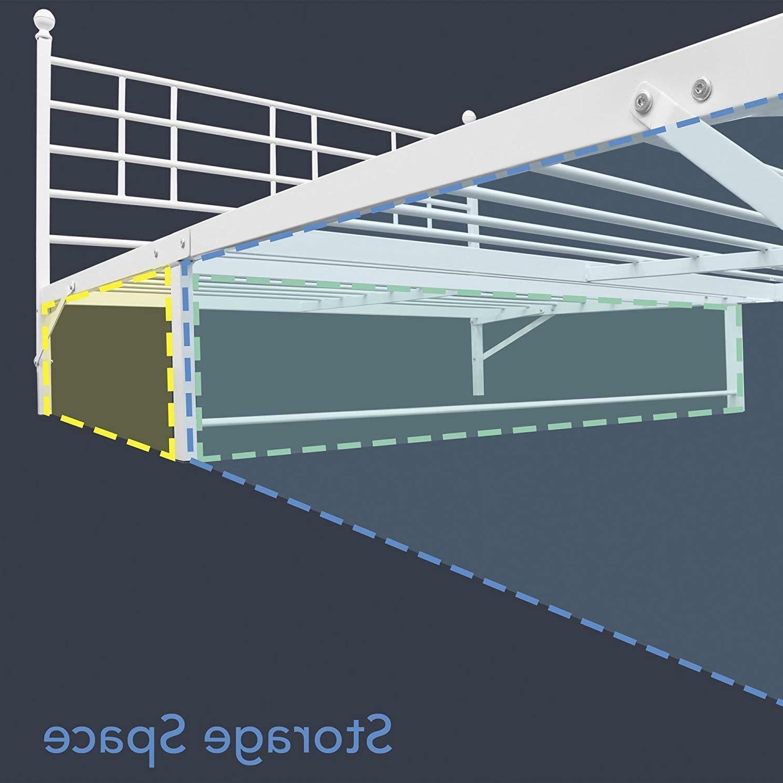 Platform Bed Headboard, Bi-Fold,