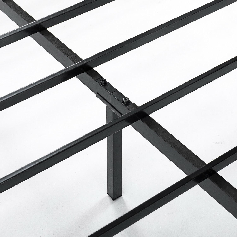 14'' Classic Platform Bed Steel Storage,Queen King
