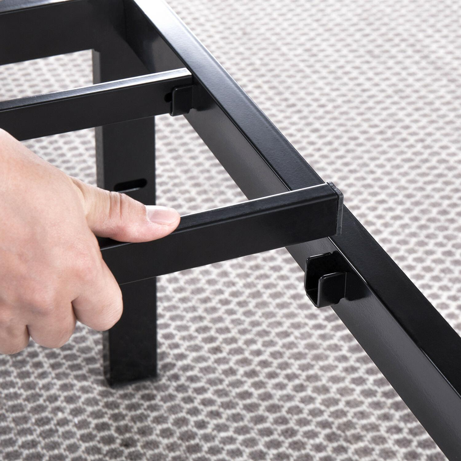 14'' Metal Bed with HEAVY Steel King