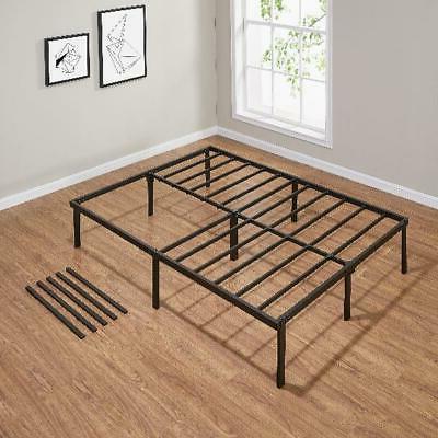 """14"""" Bed Frame Black Bedroom Home Room Full"""