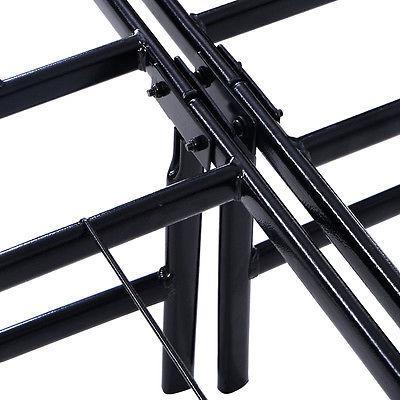 "14 "" Platform Metal Bed Mattress Foundation GOPLUS Size"