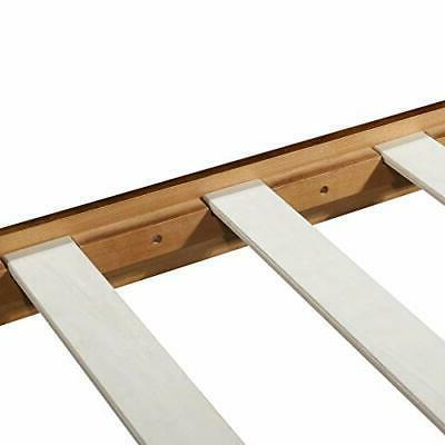 Olee Deluxe Platform HeadboardWood Bed Frame