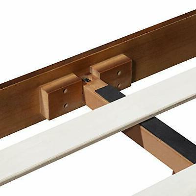 Olee 14 Inch Deluxe Platform HeadboardWood