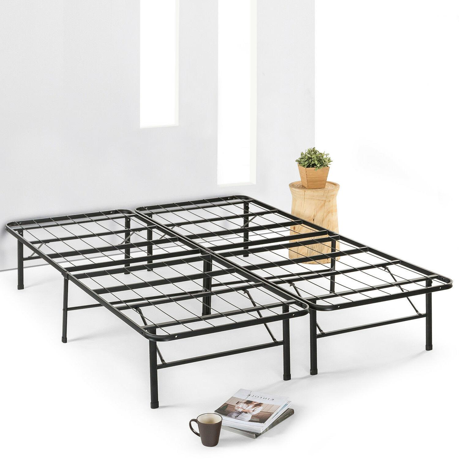 14 metal bed frame mattress foundation extra