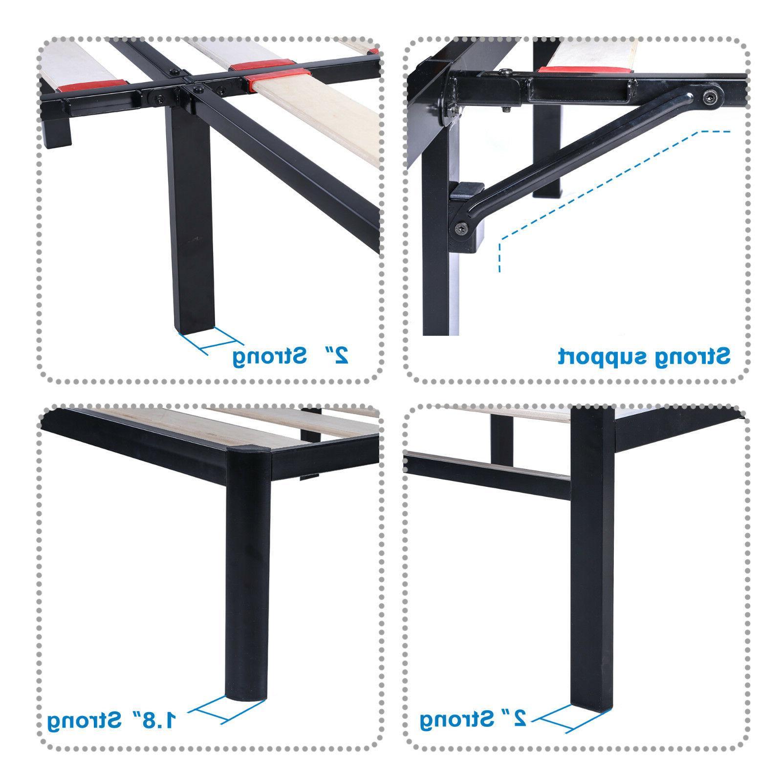EG Wooden Slat Platform frame, Noise Free, Safe