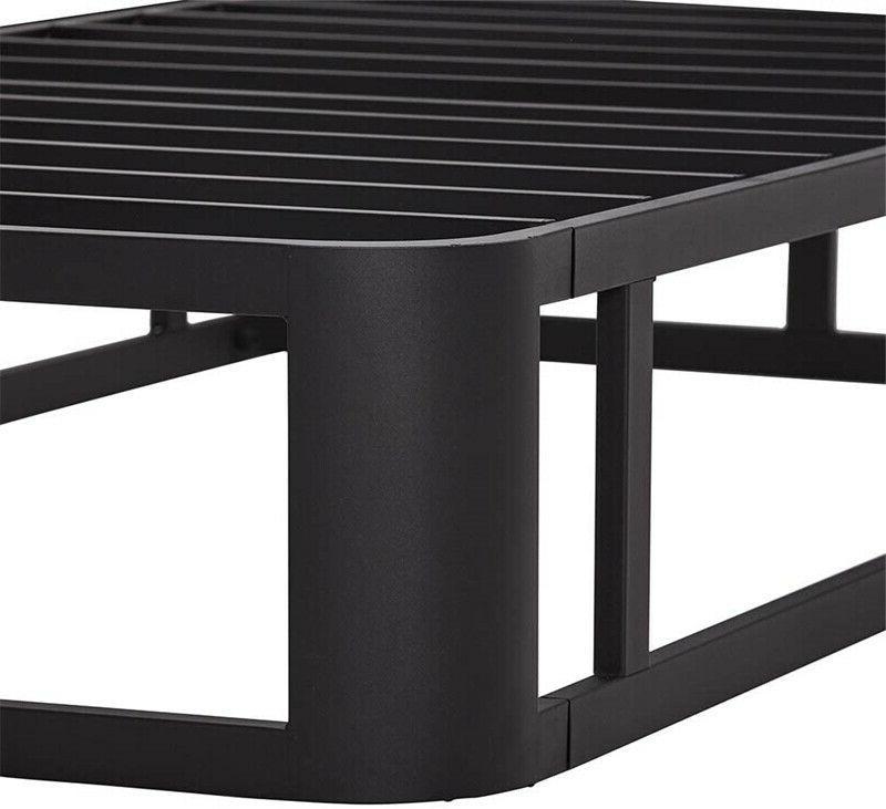 Durable 12 Metal Platform Slatted Bed Base Size