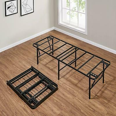 18-inch Bed Frame Foldable Powder-Coated Full