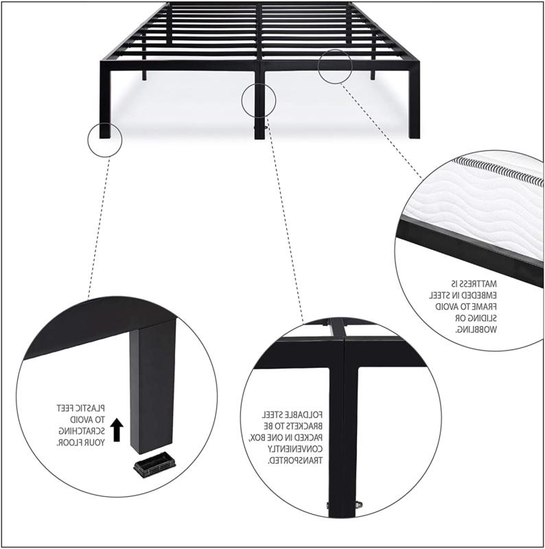Bed Under Storage Steel Slat Spring Needed