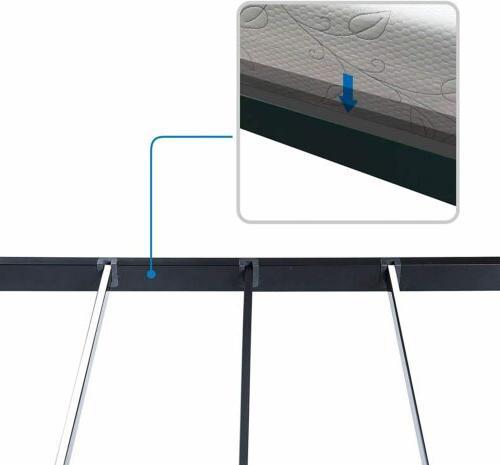 18 UP-Support Support Bar Deluxe Metal Slat Bed Frame US