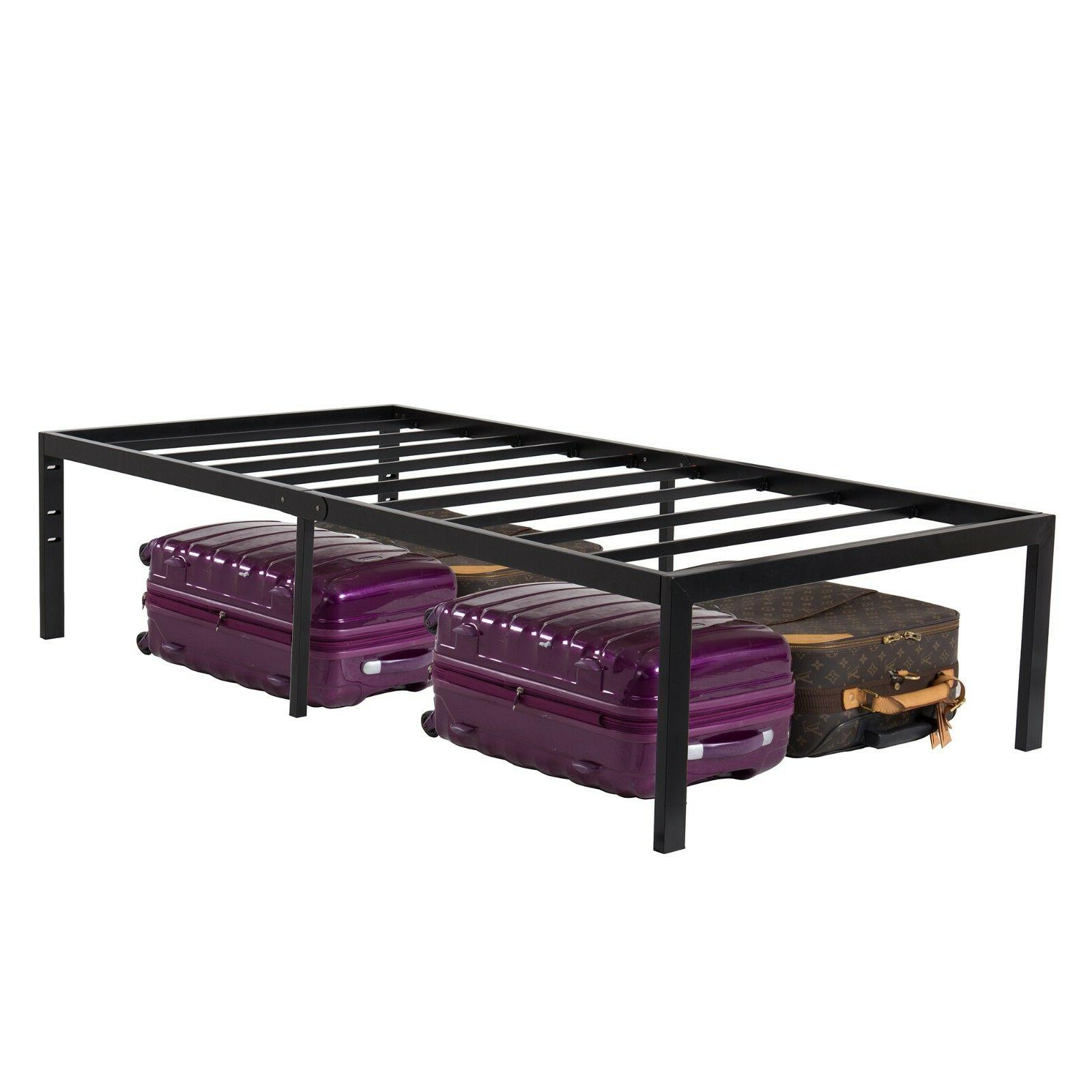 "18"" Foundation Bed Frame Twin Bedroom Included"