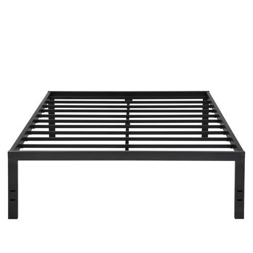 Olee Sleep 18Inch Dura Metal Steel Slate Bed Frame - S3500 Q