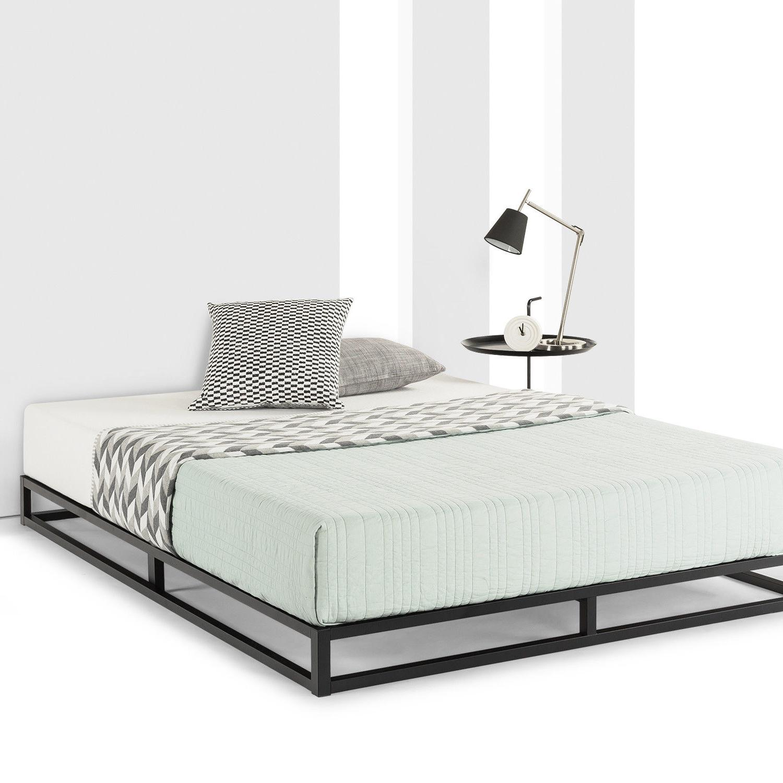 Metal Bed Wooden Slat