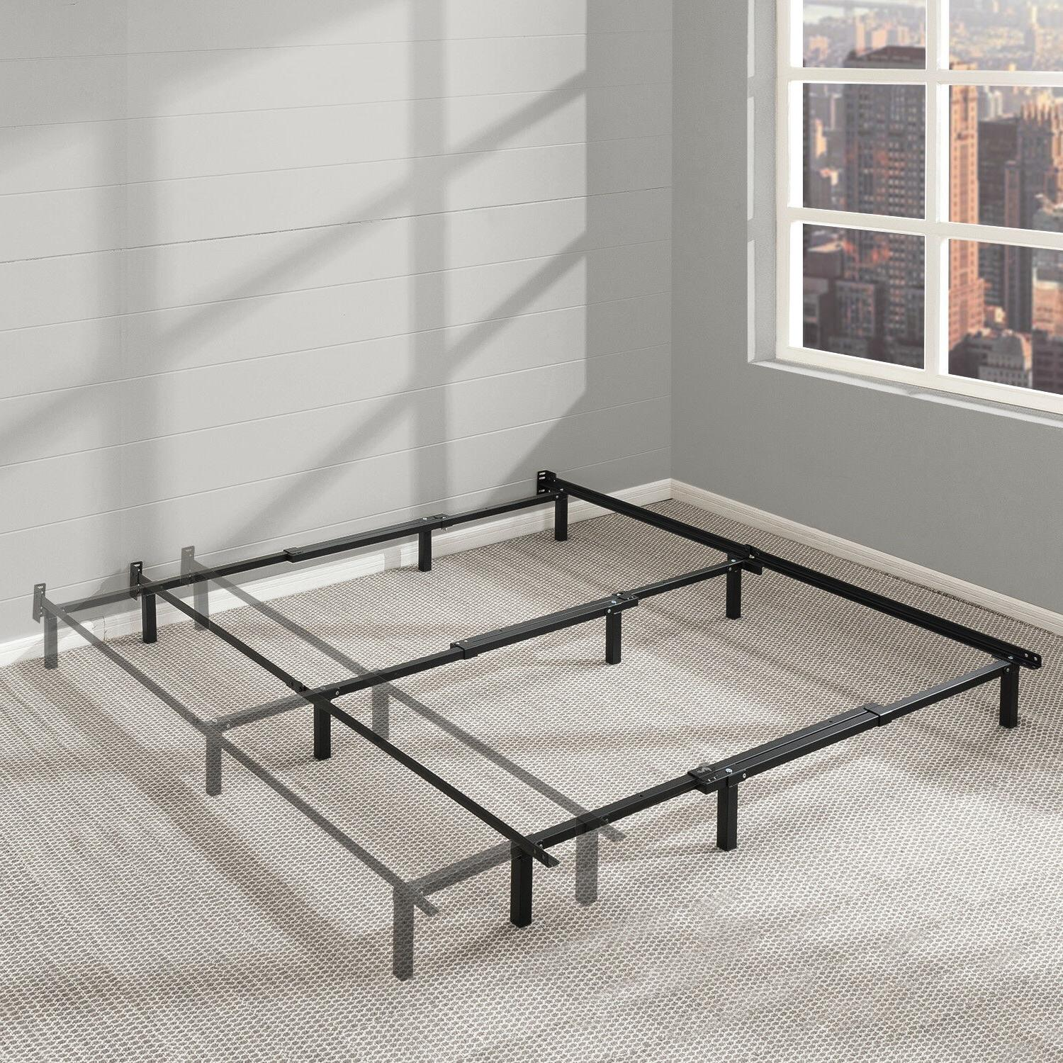 7 adjustable bed frame heavy duty steel