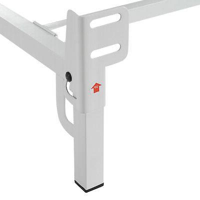 Mainstays Inch Profile Adjustable Steel Frame, Metal Platform