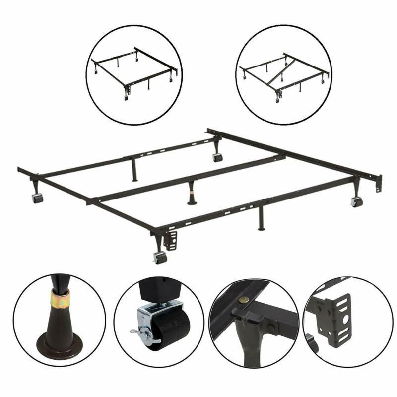 7 leg adjustable metal bed frame
