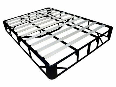 "9"" Inch Steel Base Mattress Foundation Platform Bed Frame w/"