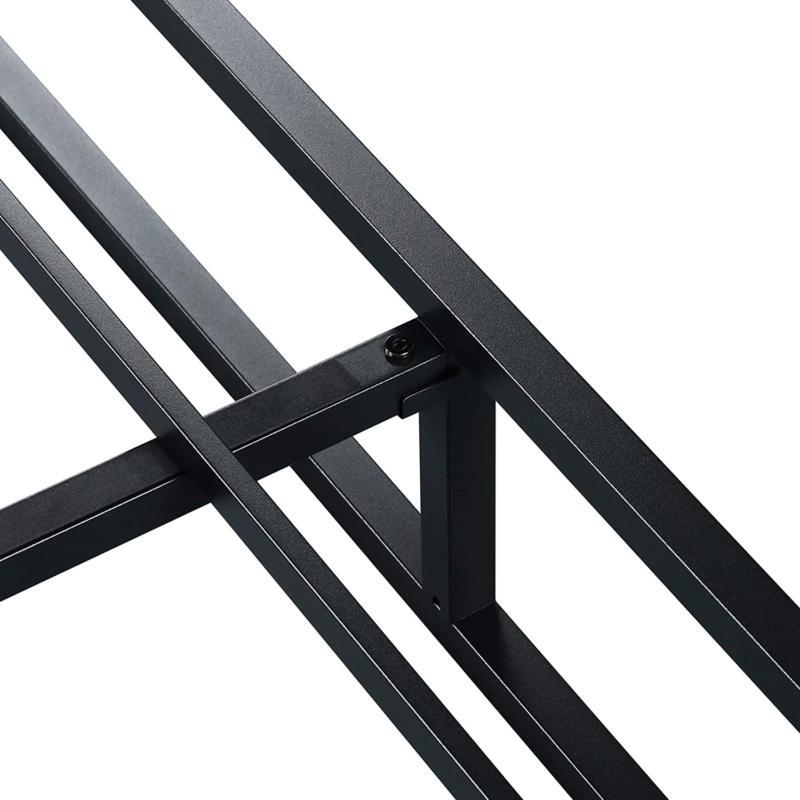 Olee Modern Metal Platform Frame / Steel Slats /