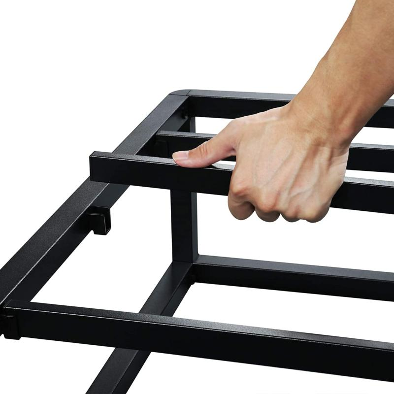 Olee Sleep Modern Platform Frame / Steel Slats / Mattress