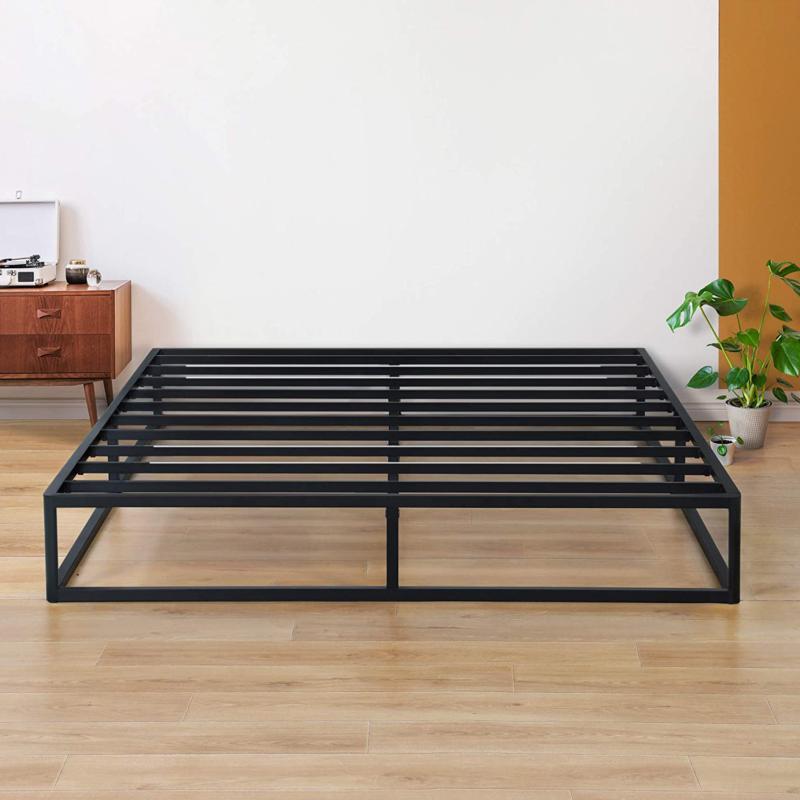 Olee Sleep 9 Inch Modern Metal Platform Bed Frame / Steel Sl